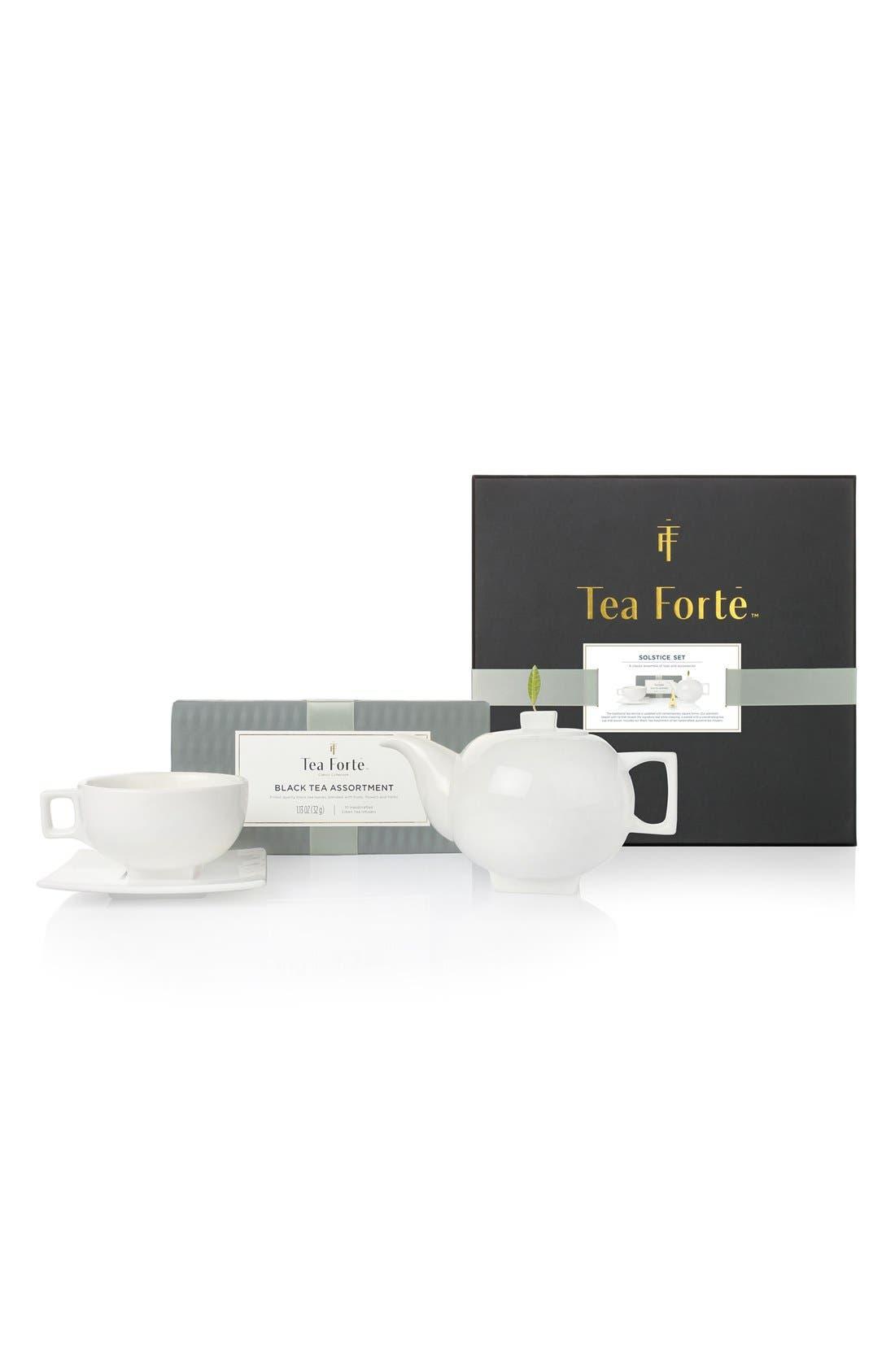 'Solstice Ensemble' Black Tea Gift Set,                         Main,                         color, Blue