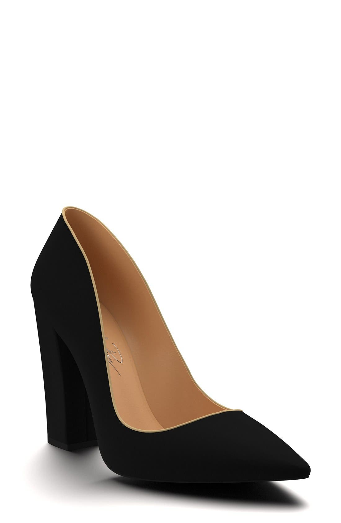 SHOES OF PREY Block Heel Pump