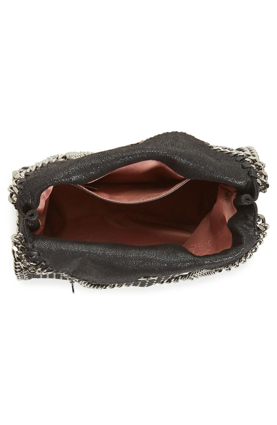 Alternate Image 4  - Stella McCartney 'Mini Falabella' Studded Faux Leather Tote