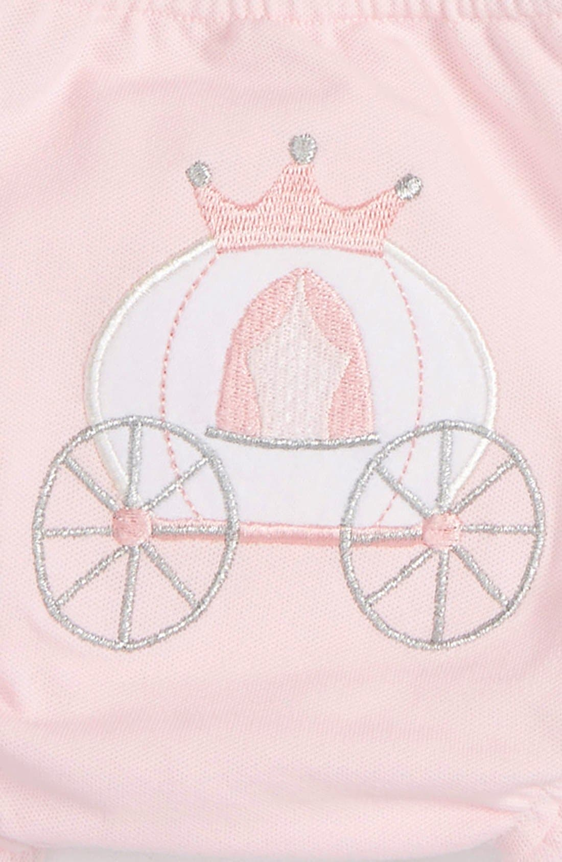 Alternate Image 2  - Baby Aspen 'Her Royal Hineys' Bloomers (3-Pack) (Baby Girls)