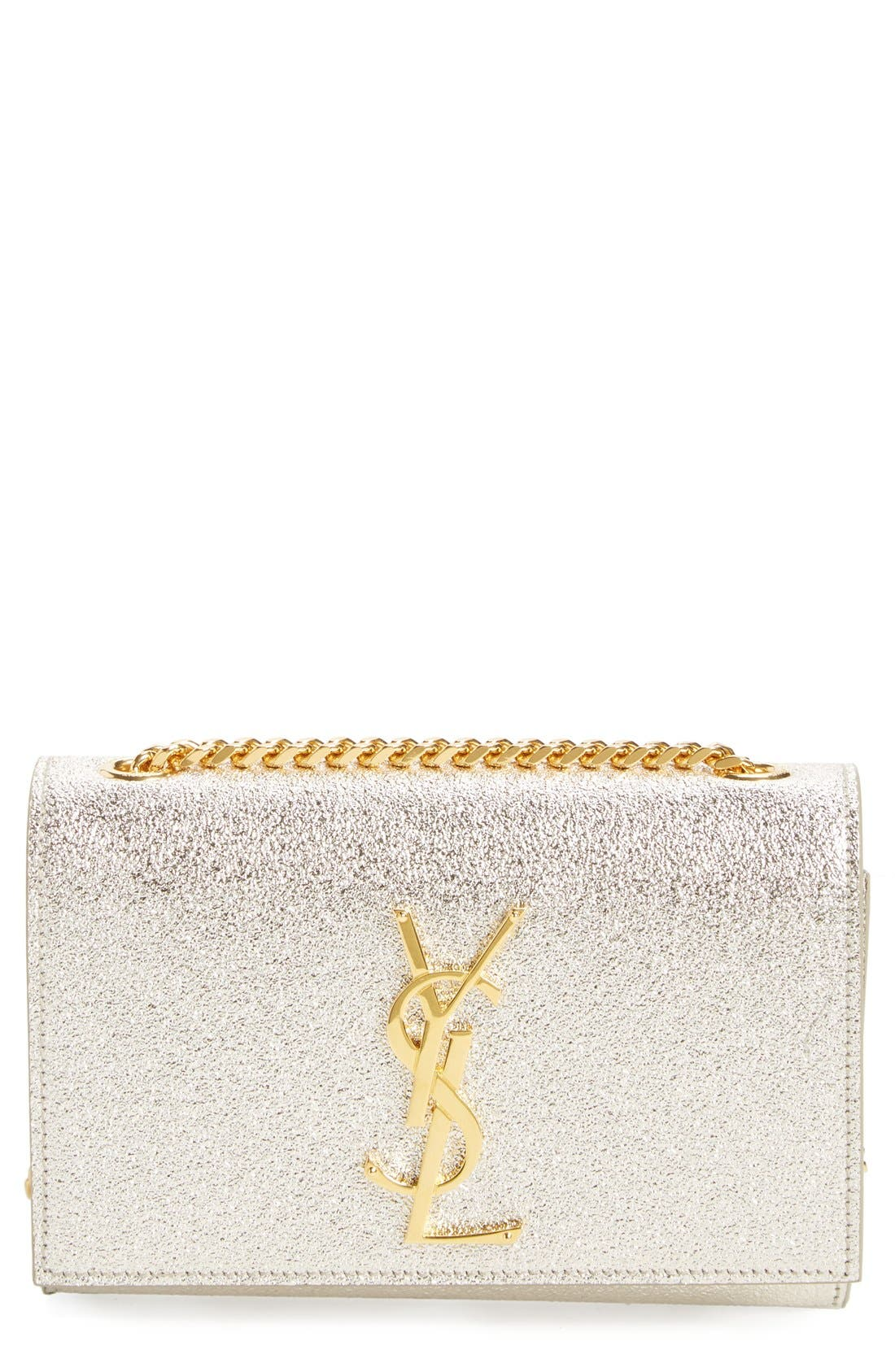 SAINT LAURENT Small Monogram Crossbody Bag