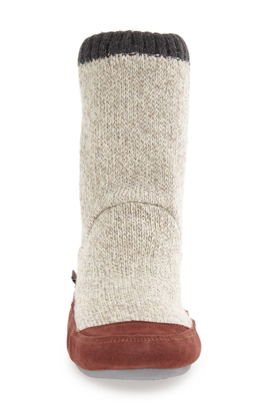 Alternate Image 3  - Acorn 'Slouch Boot' Slipper (Men)