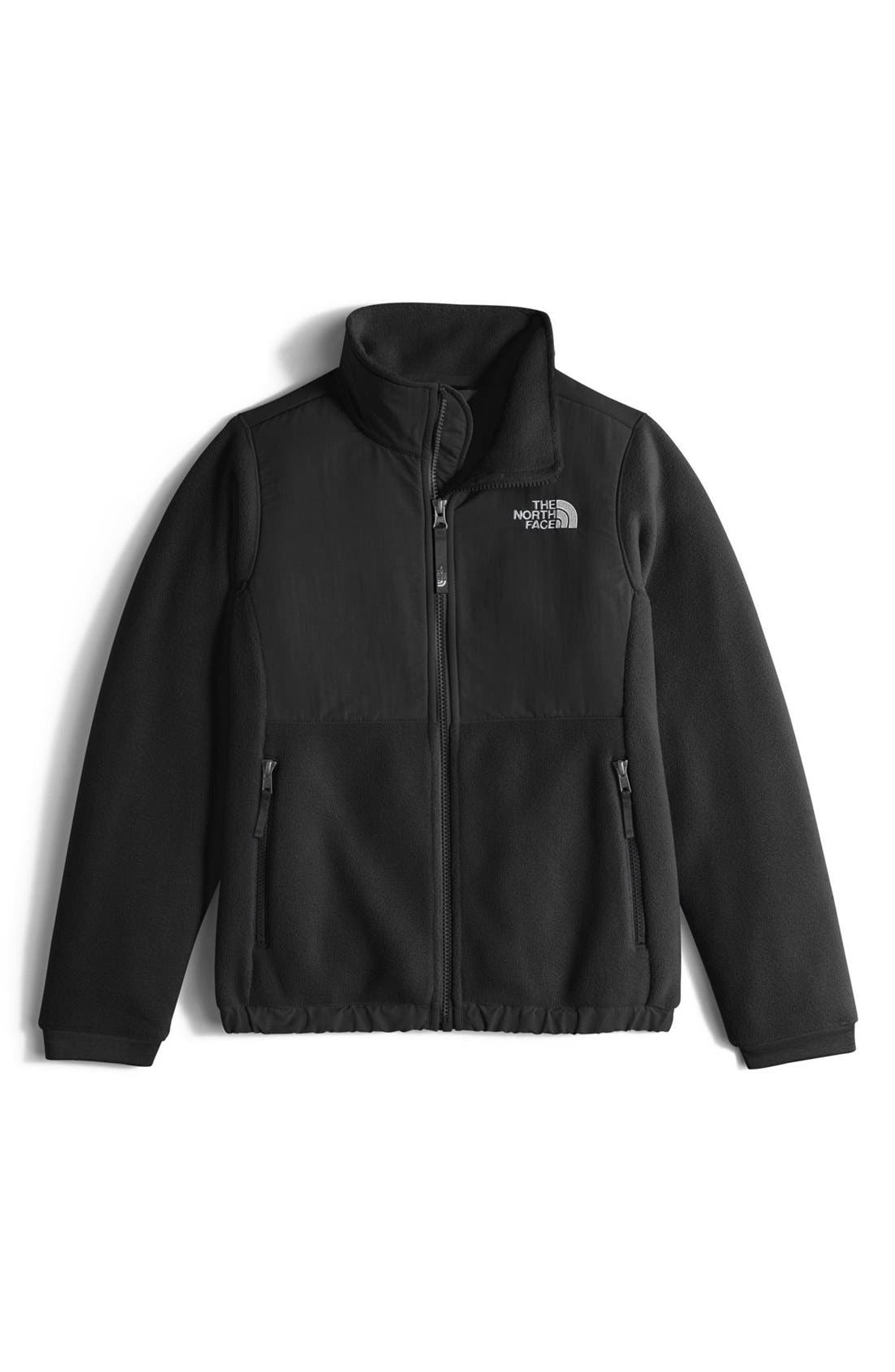 Alternate Image 1 Selected - The North Face 'Denali' Thermal Jacket (Big Girls)