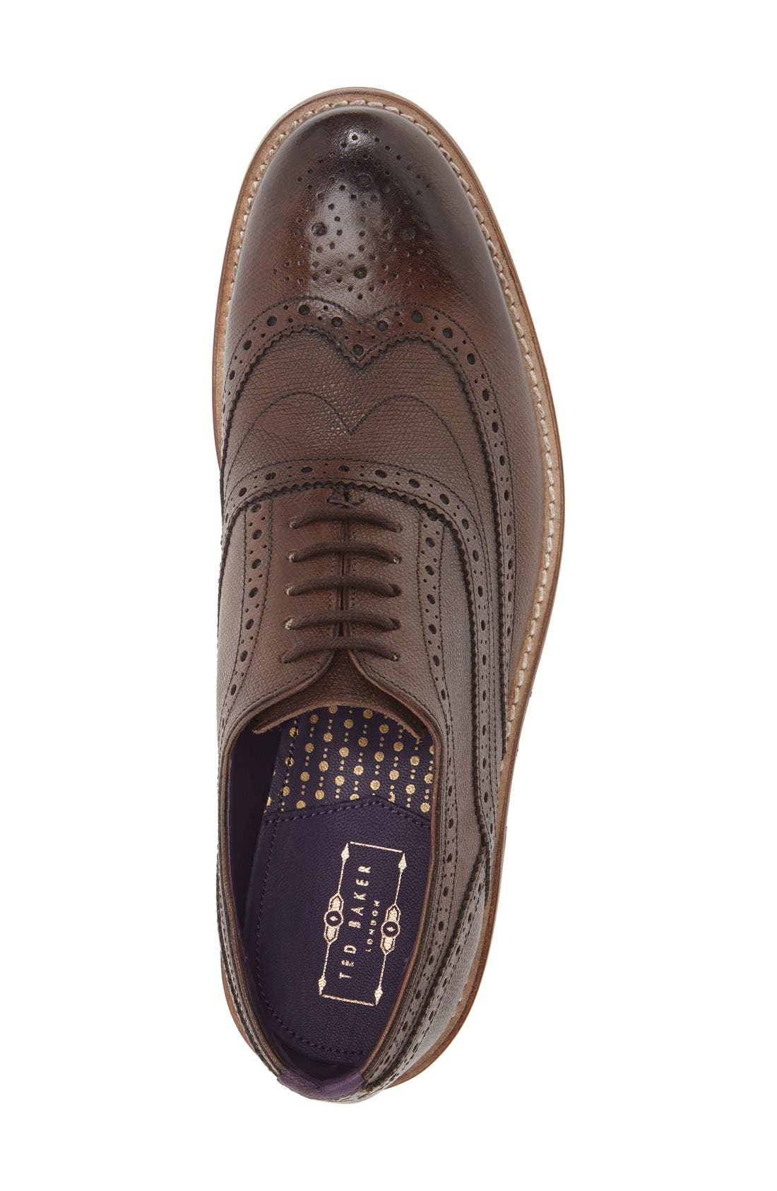 Alternate Image 3  - Ted Baker London 'Guri 8' Wingtip (Men)