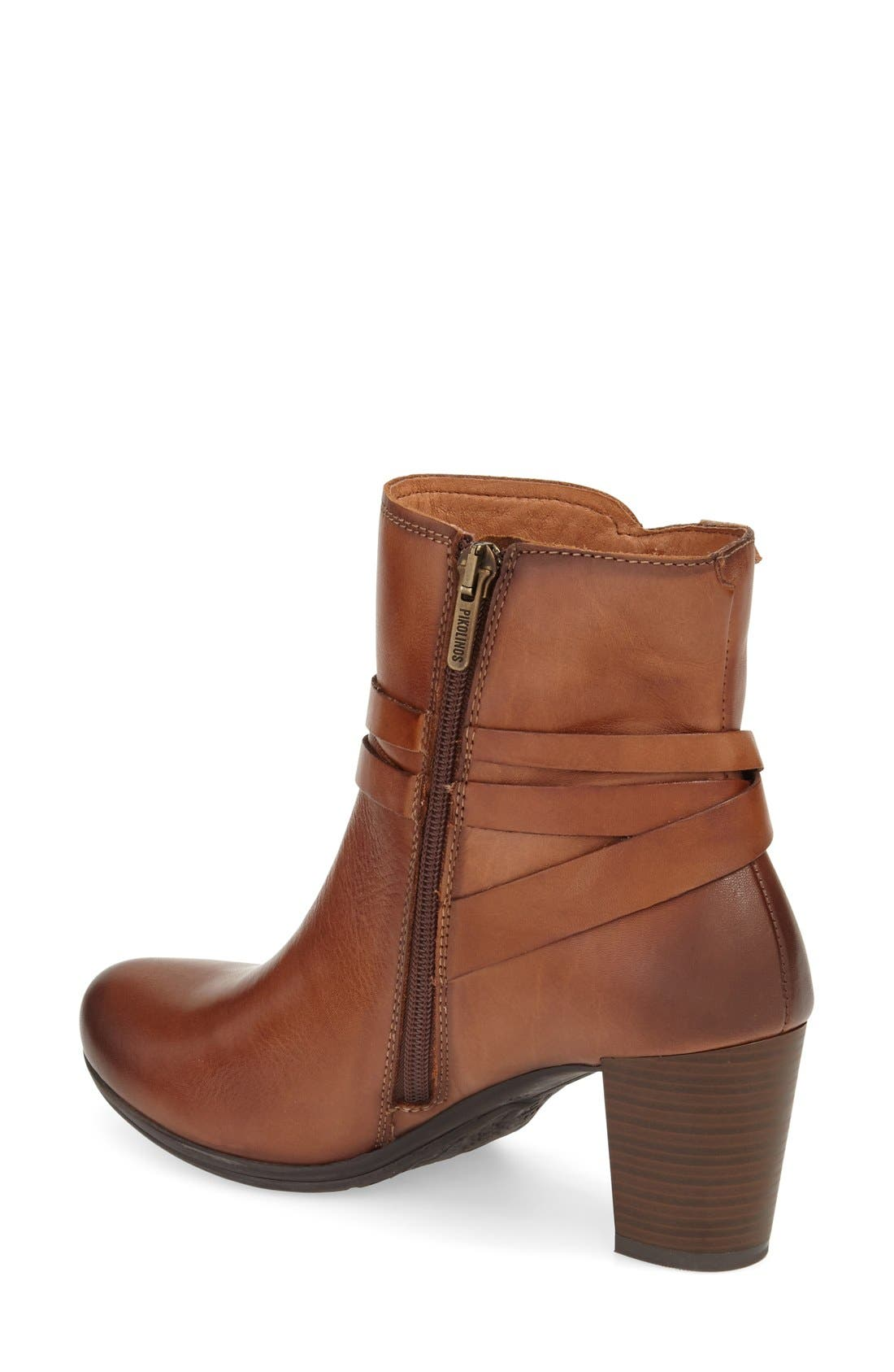 'Verona' Bootie,                             Alternate thumbnail 2, color,                             Cuero Leather