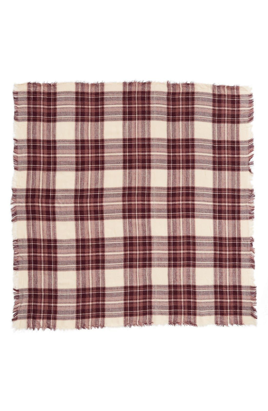 Alternate Image 2  - BP. Plaid Square Scarf