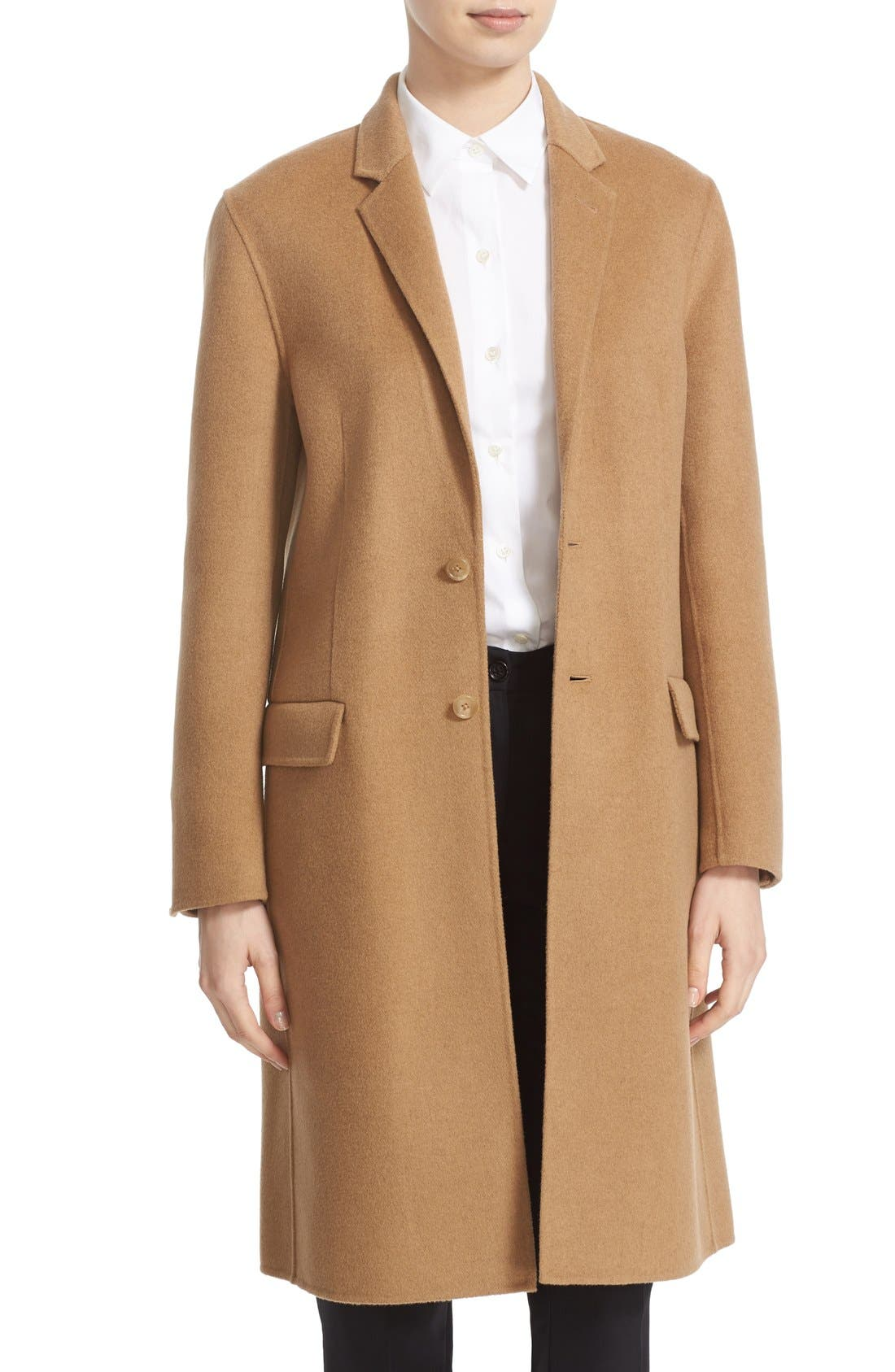 Main Image - JOSEPH 'Caversham' Double Face Wool & Cashmere Coat