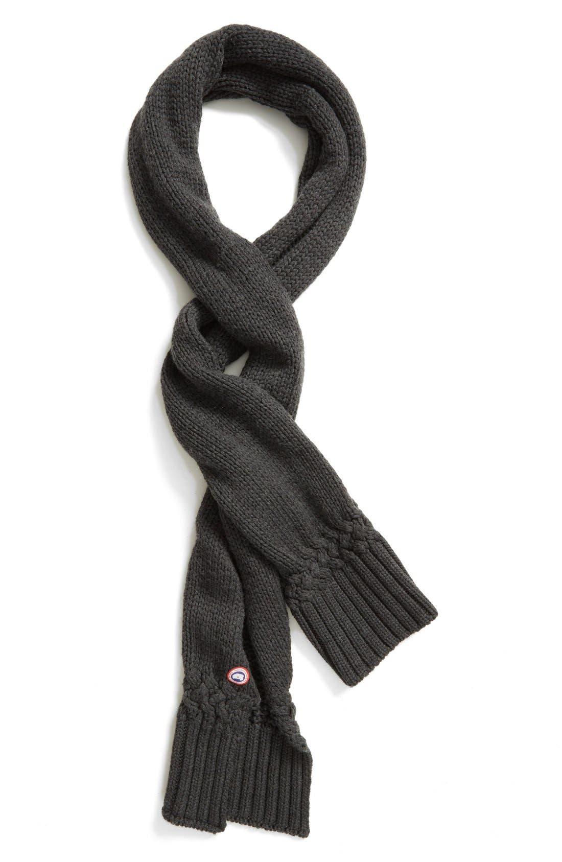 Alternate Image 3  - Canada Goose Knit Merino Wool Scarf