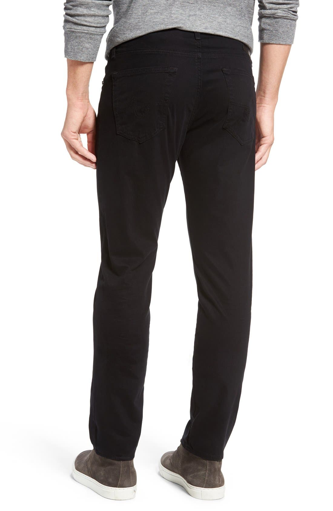 Dylan Slim Fit Pants,                             Alternate thumbnail 2, color,                             1 Year Black Night