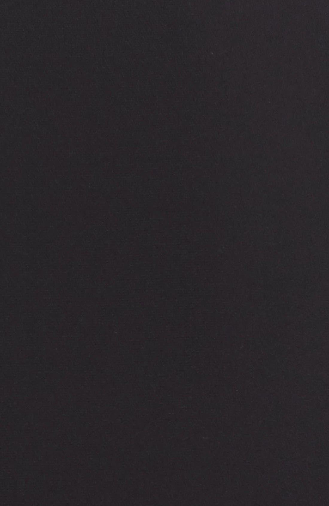 Acacia Lace Detail Jacket,                             Alternate thumbnail 3, color,                             Black