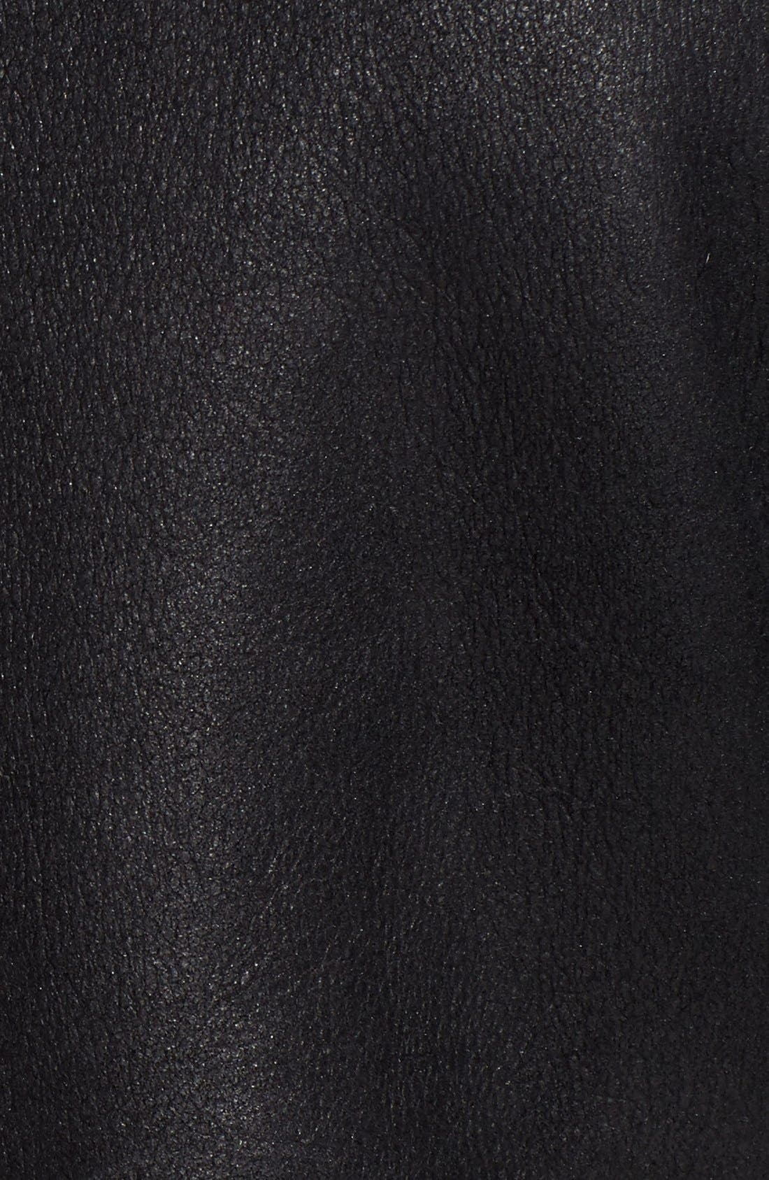Alternate Image 5  - HiSO Tattler Genuine Toscana Shearling Oversize Bomber Jacket
