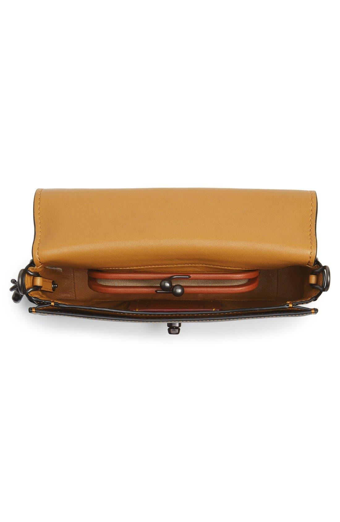 Alternate Image 4  - COACH 1941 'Dinky' Leather Crossbody Bag