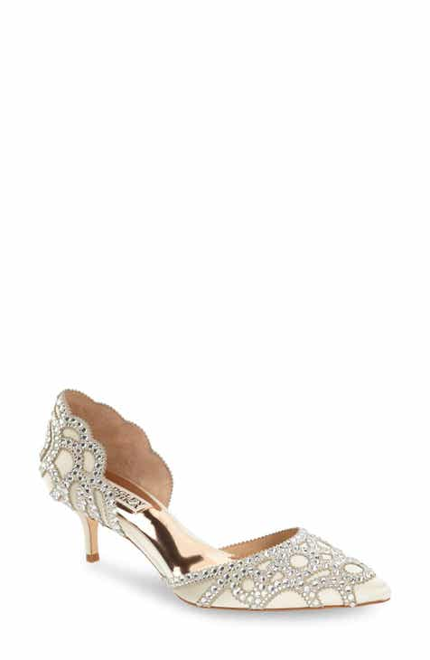 253dd15568f Badgley Mischka  Ginny  Embellished d Orsay Pump (Women)