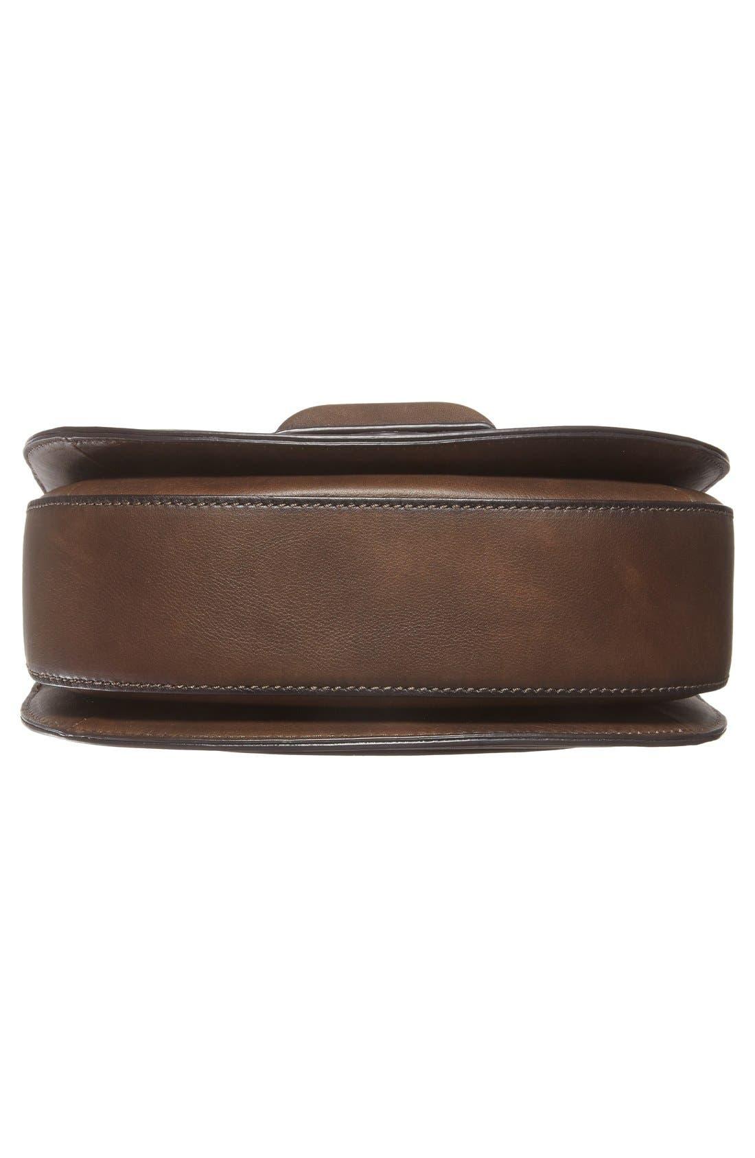 Alternate Image 6  - Michael Kors 'Daria' Leather Saddle Bag