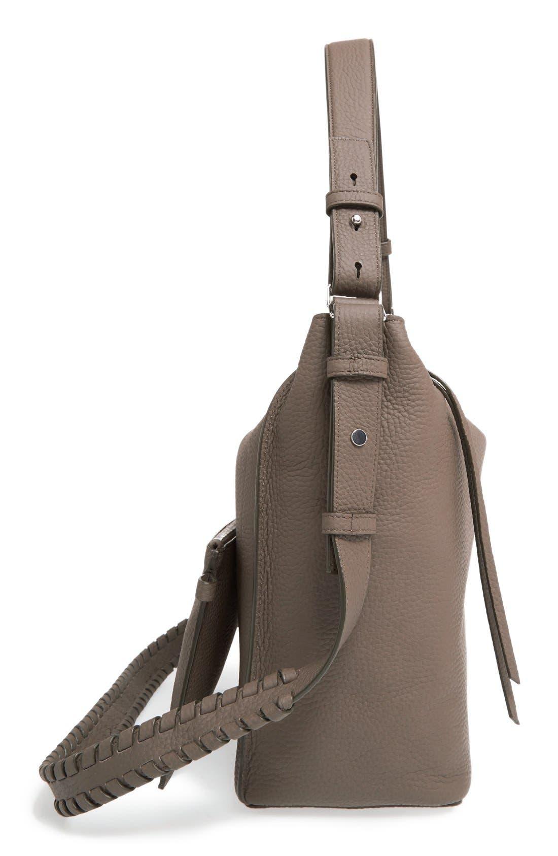 Alternate Image 5  - ALLSAINTS 'Kita' Leather Shoulder/Crossbody Bag