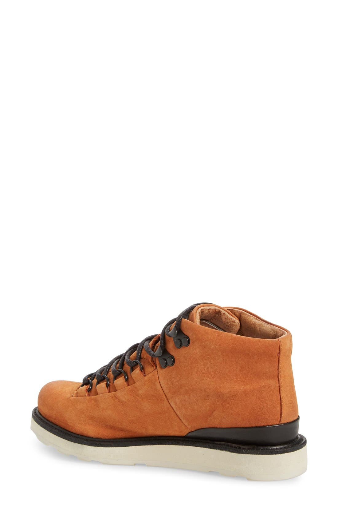 'MW76' Water Resistant Boot,                             Alternate thumbnail 2, color,                             Cortecia Nubuck Leather