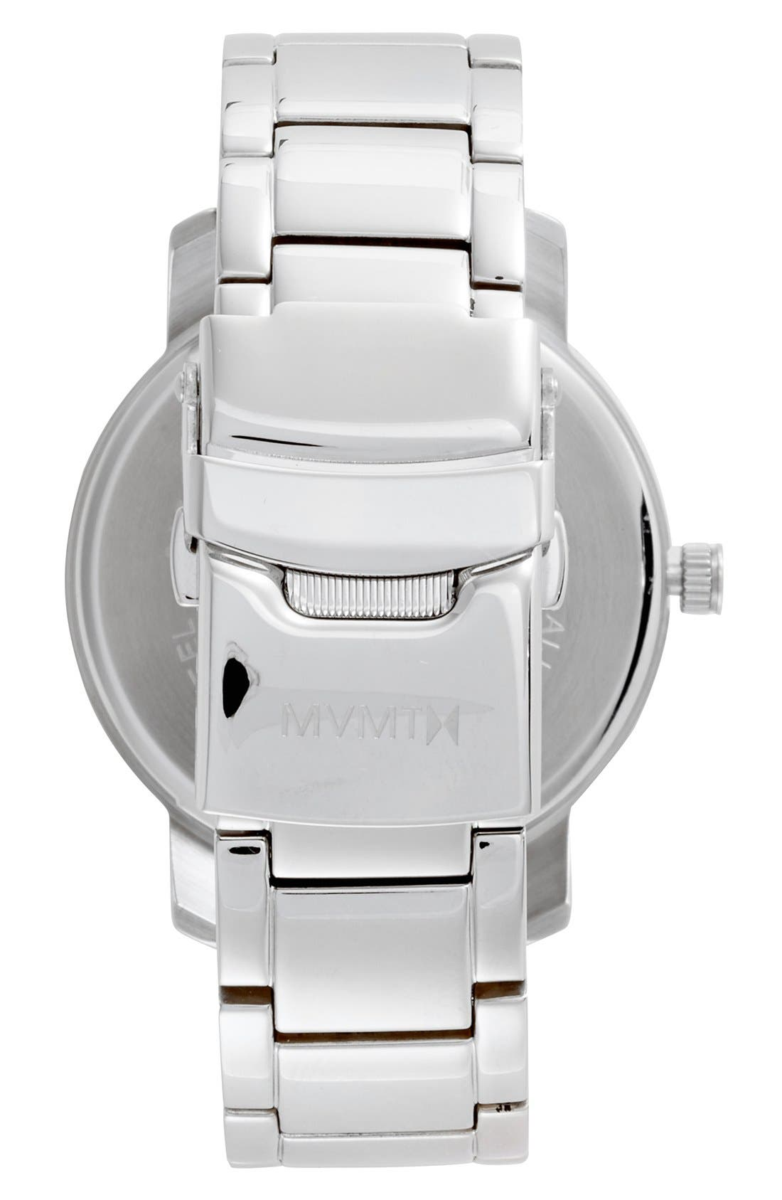 Bracelet Watch, 38mm,                             Alternate thumbnail 2, color,                             Silver/ Pearl