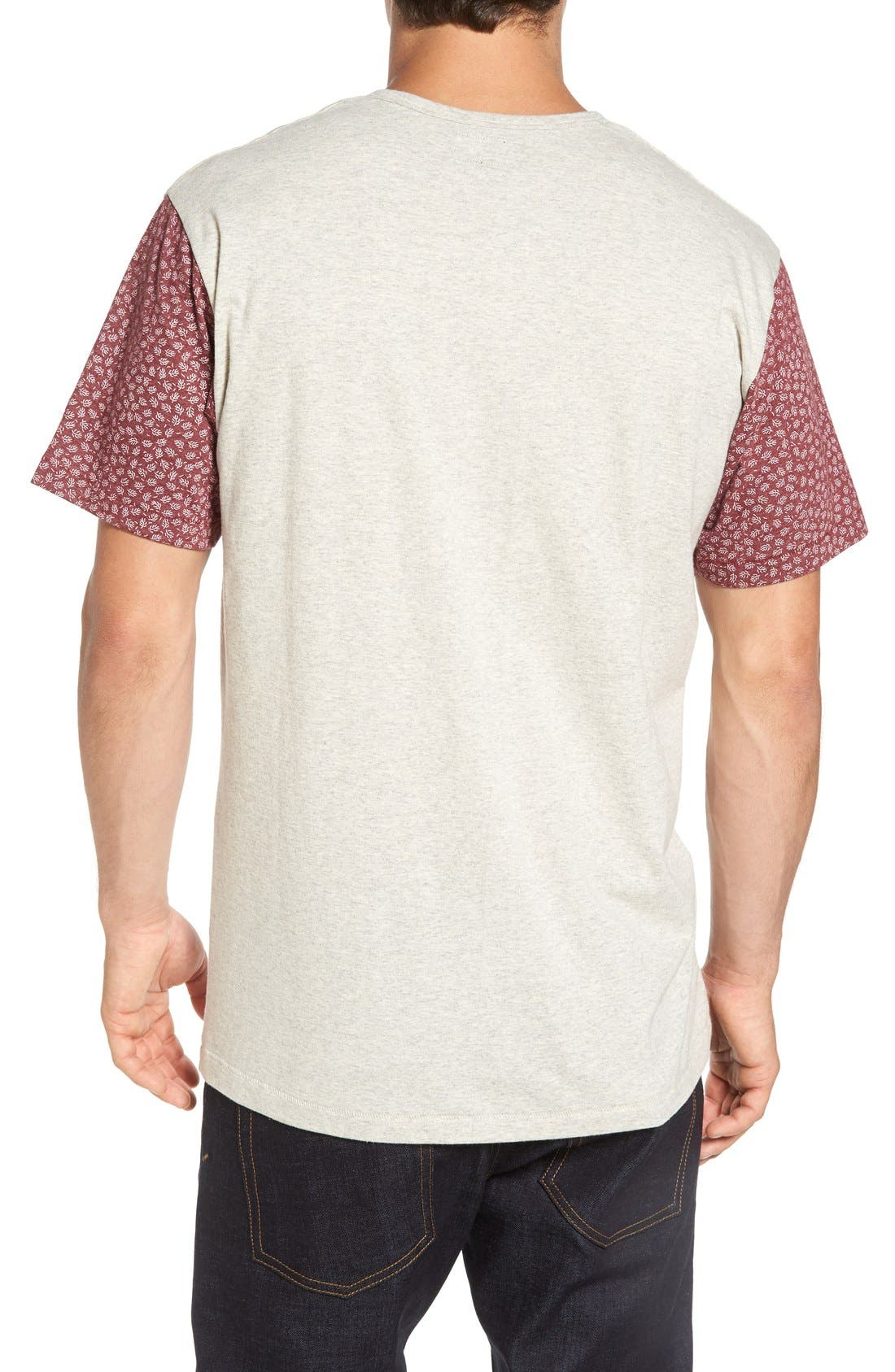 Alternate Image 2  - Imperial Motion 'Harper' Short Sleeve Pocket Henley T-Shirt