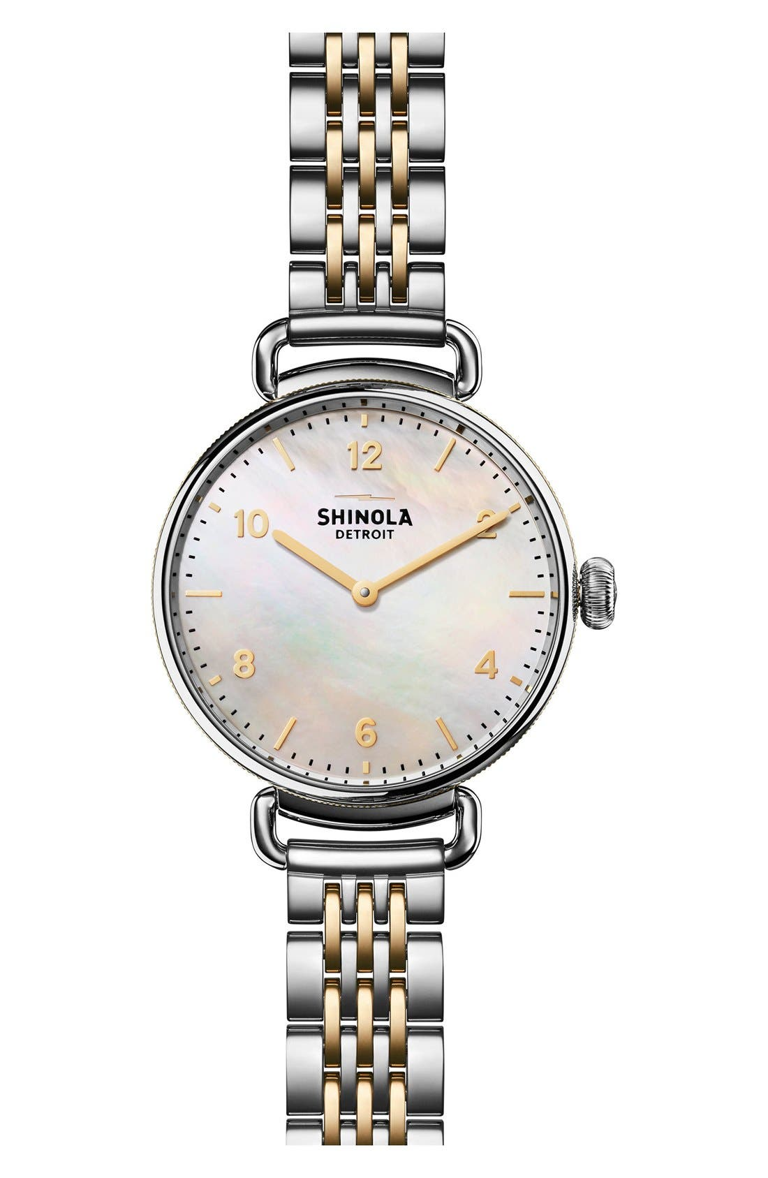 Alternate Image 1 Selected - Shinola The Canfield Bracelet Watch, 32mm