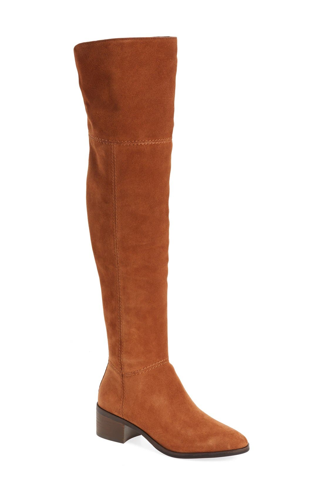 Alternate Image 1 Selected - COACH 'Lucia' Cuffable Over the Knee Boot (Women)