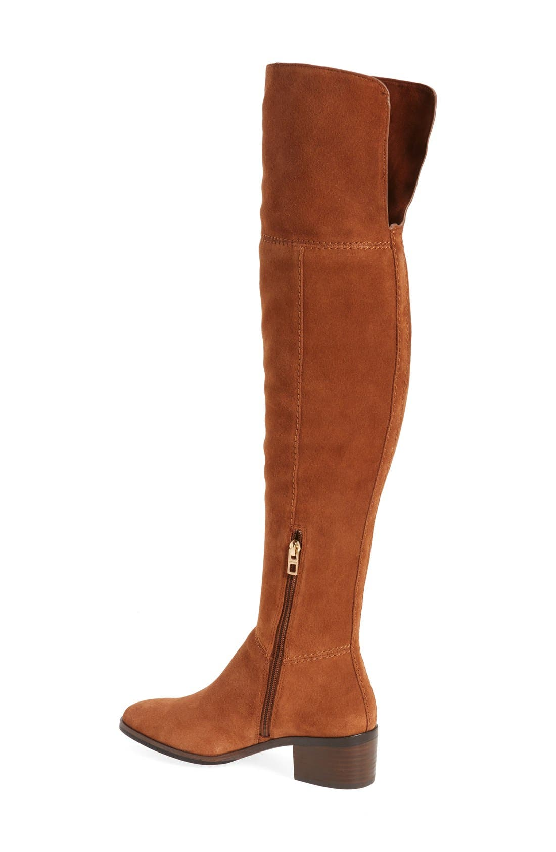 Alternate Image 2  - COACH 'Lucia' Cuffable Over the Knee Boot (Women)