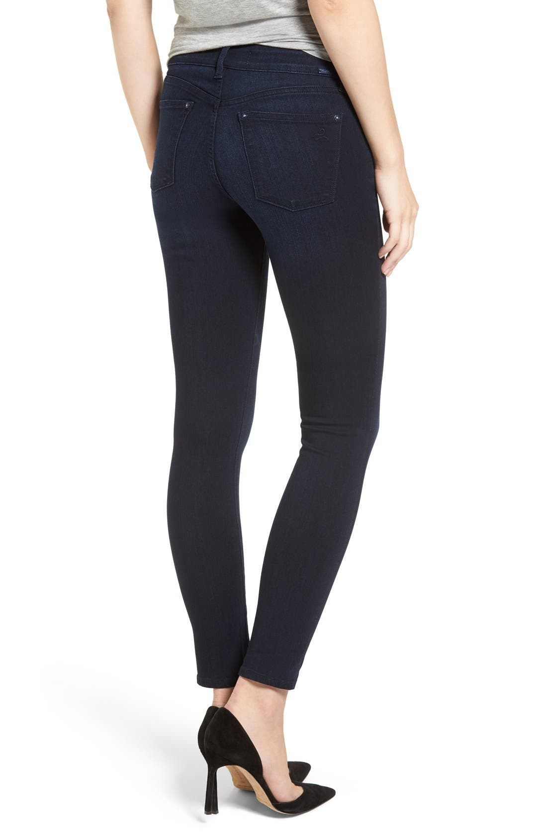 'Emma' Power Legging Jeans,                             Alternate thumbnail 2, color,                             Token