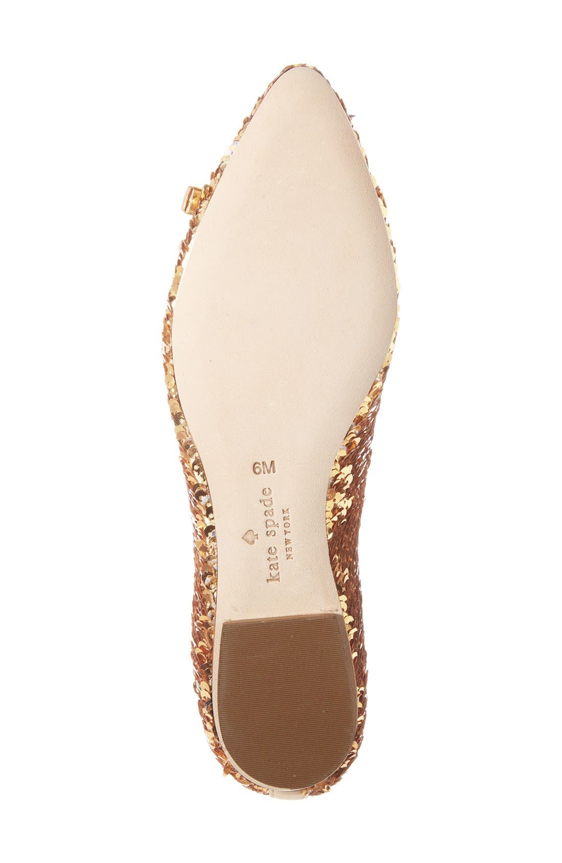 Alternate Image 4  - kate spade new york 'emma too' pointy toe flat (Women)