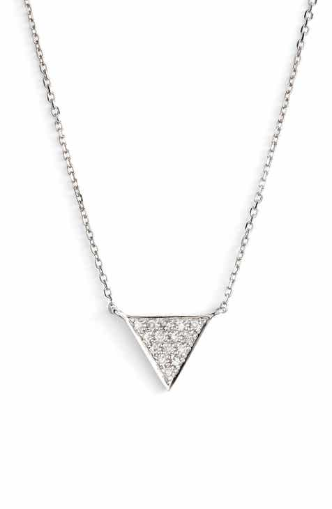 delicate of new s allezgisele necklaces pendant cz stud macy fill necklace tiny awesome gold diamond