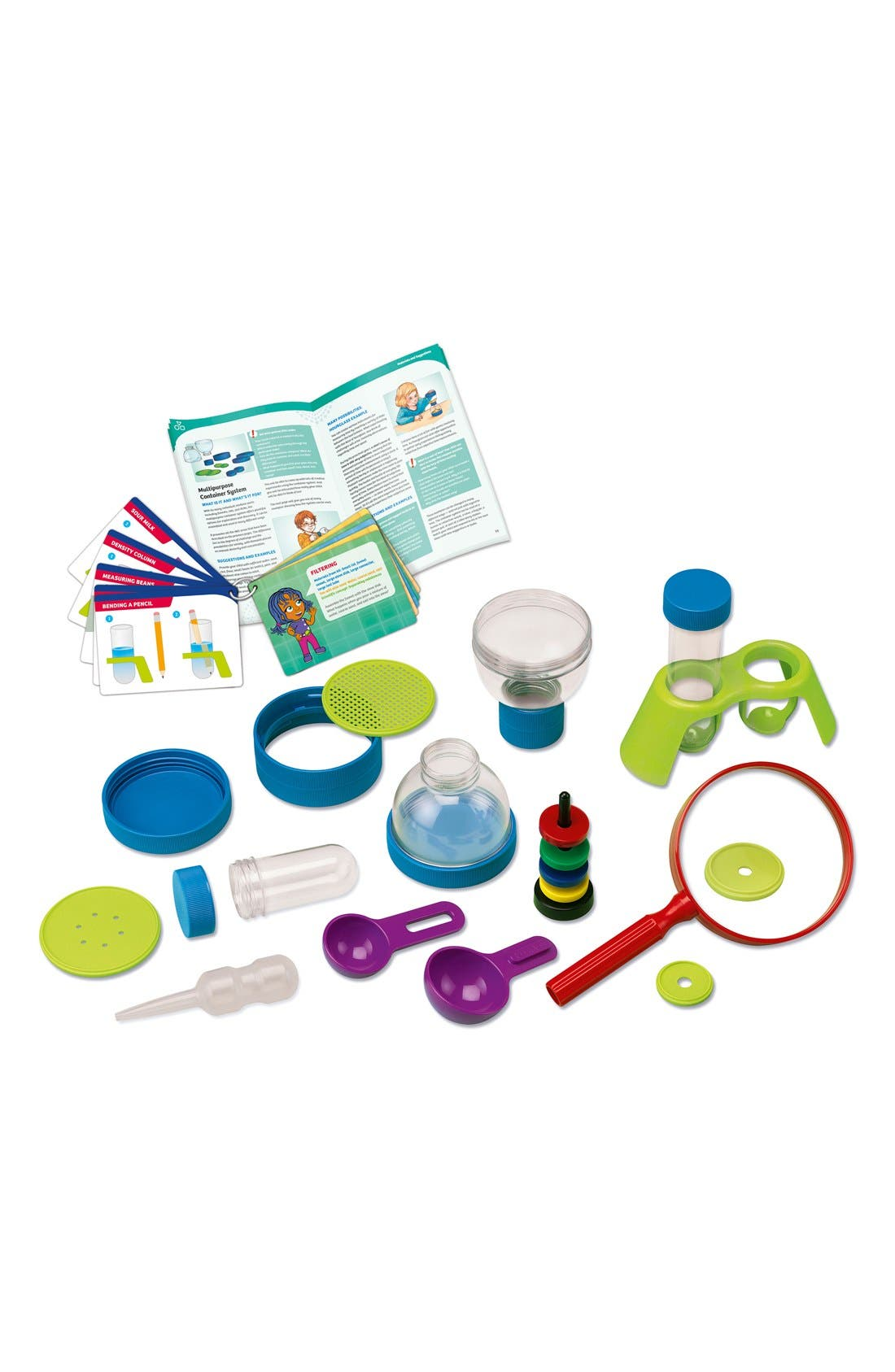 'Kids First Science Labratory' Experiment Kit,                         Main,                         color, Green