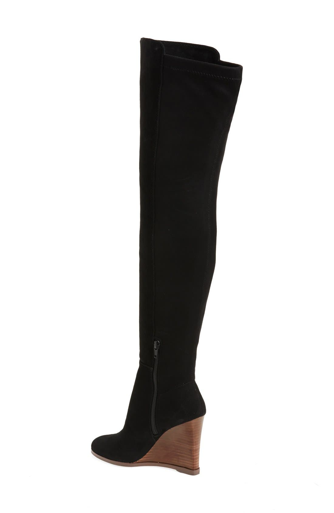 Alternate Image 2  - Vince Camuto 'Granta' Over the Knee Wedge Boot (Women)