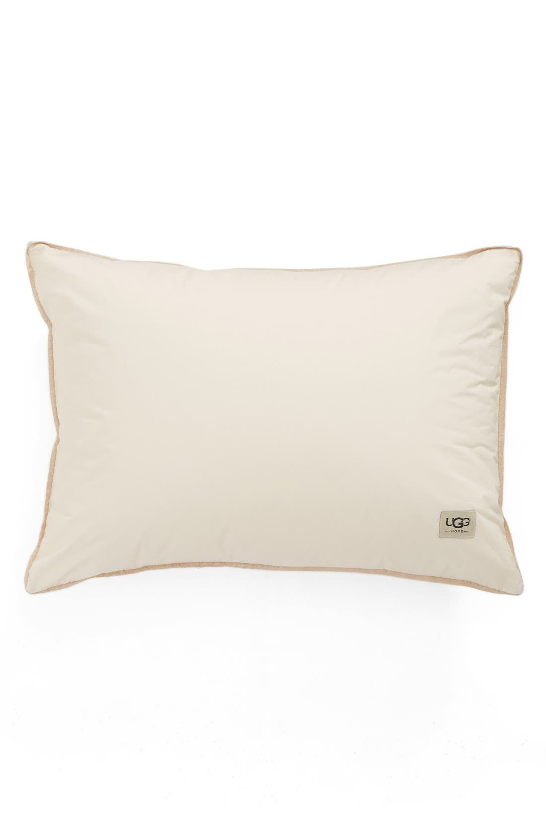 Goose Down Pillow,                         Main,                         color, All Natural