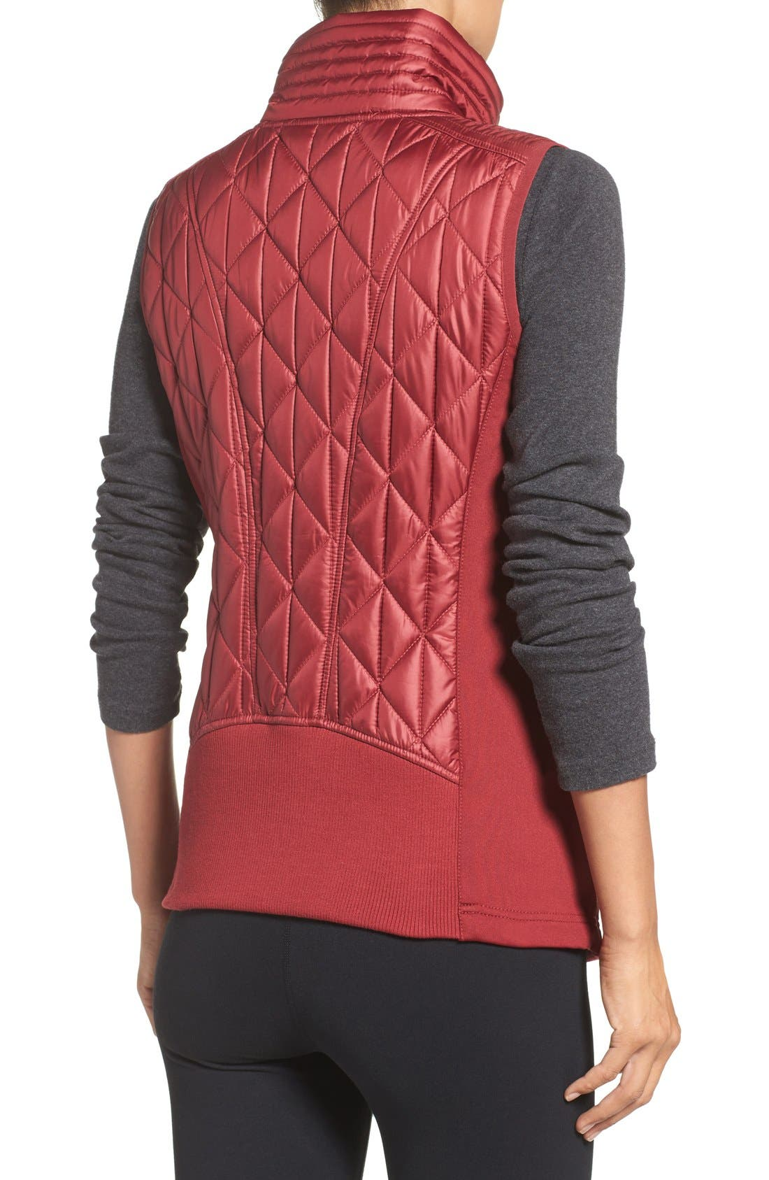 Alternate Image 2  - Zella Brooklyn Quilted Vest