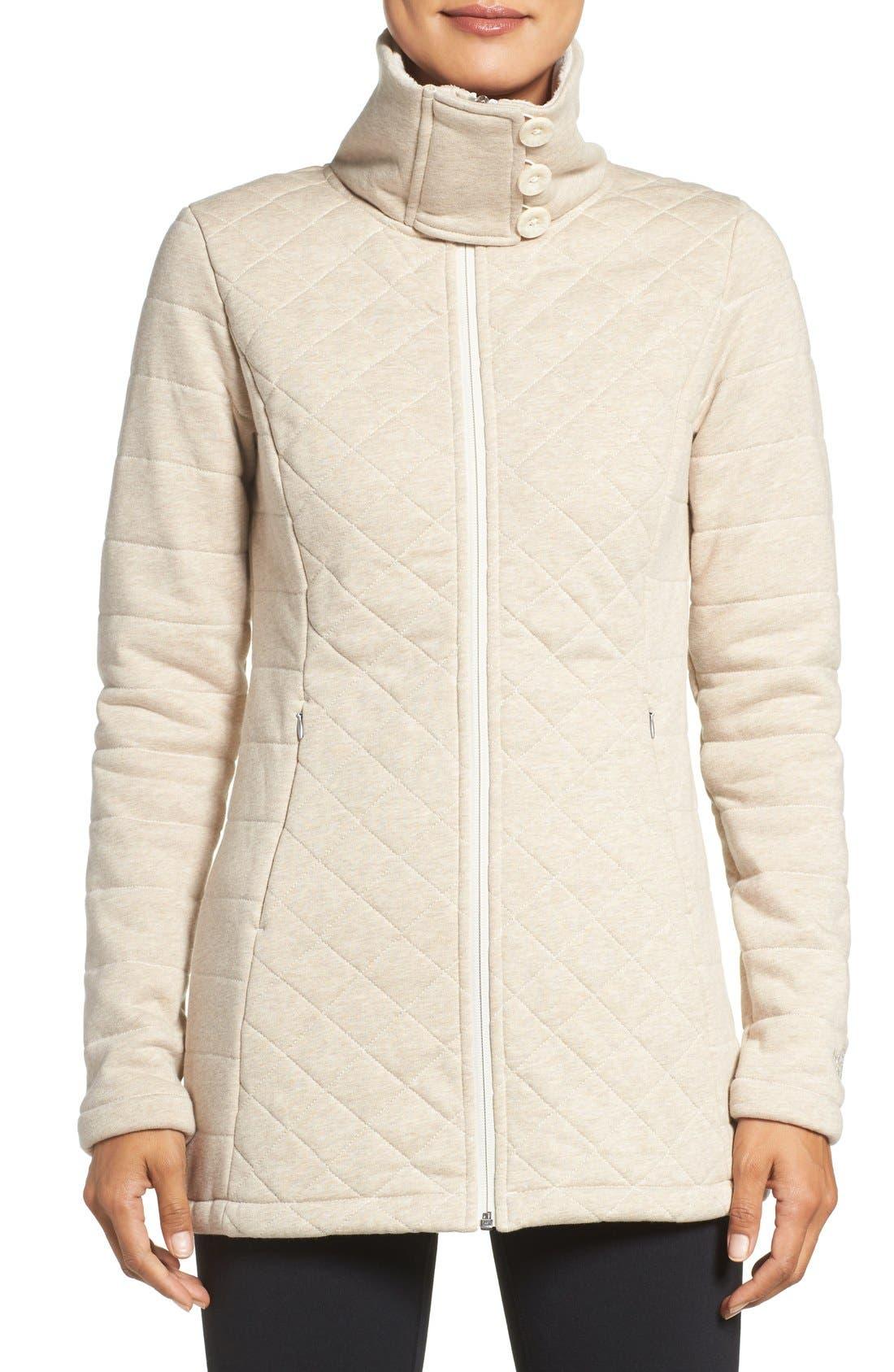 Alternate Image 1 Selected - The North Face 'Caroluna' Fleece Jacket