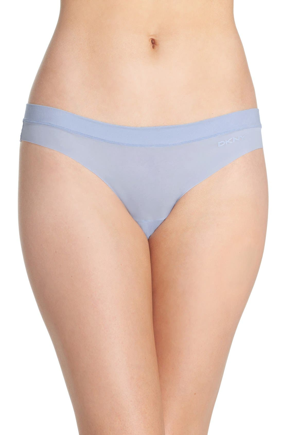 Alternate Image 1 Selected - DKNY 'Fusion' Thong (3 for $30)