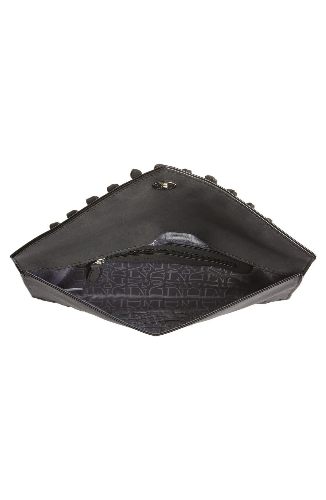 Alternate Image 4  - Danielle Nicole 'Tina' Faux Leather Envelope Clutch