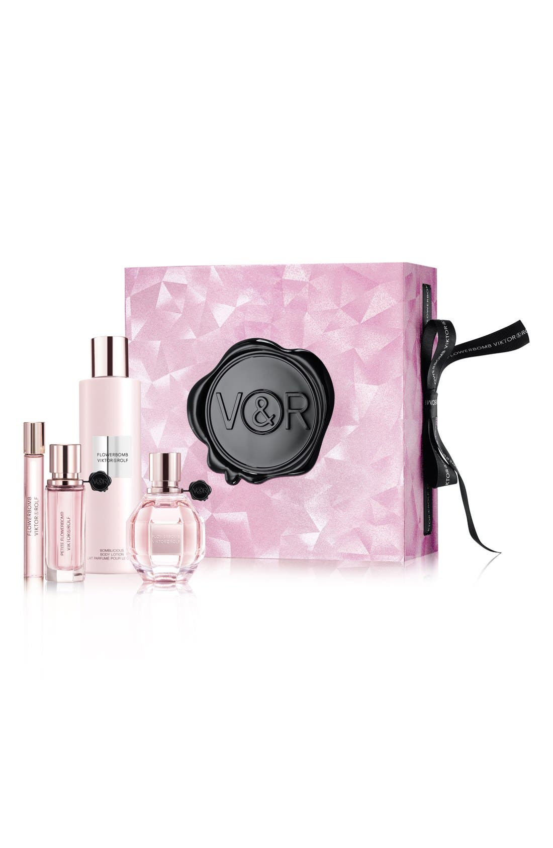 Viktor&Rolf Flowerbomb Travel Set (Limited Edition) (Nordstrom Exclusive) ($252 Value)
