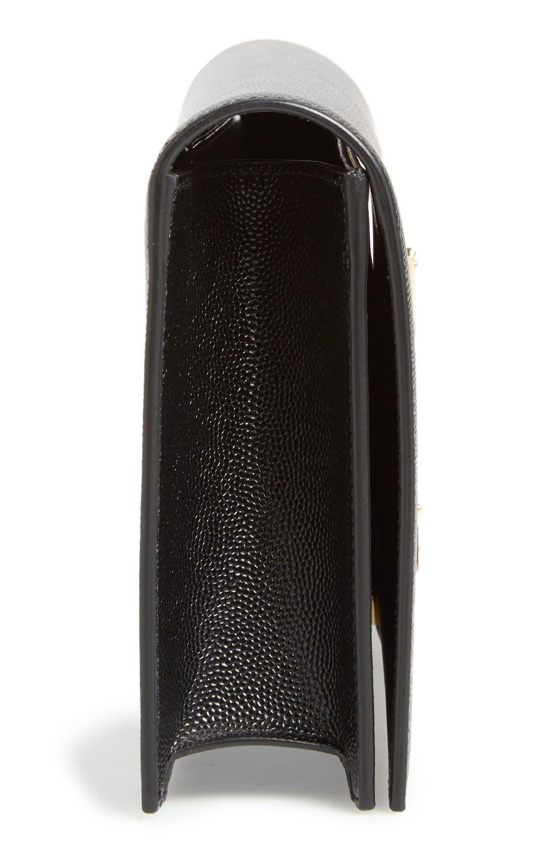 Alternate Image 5  - Saint Laurent 'Monogram' Leather Clutch