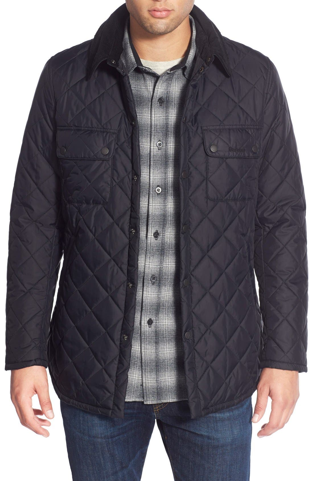Alternate Image 1 Selected - Barbour 'Akenside' Regular Fit Quilted Jacket