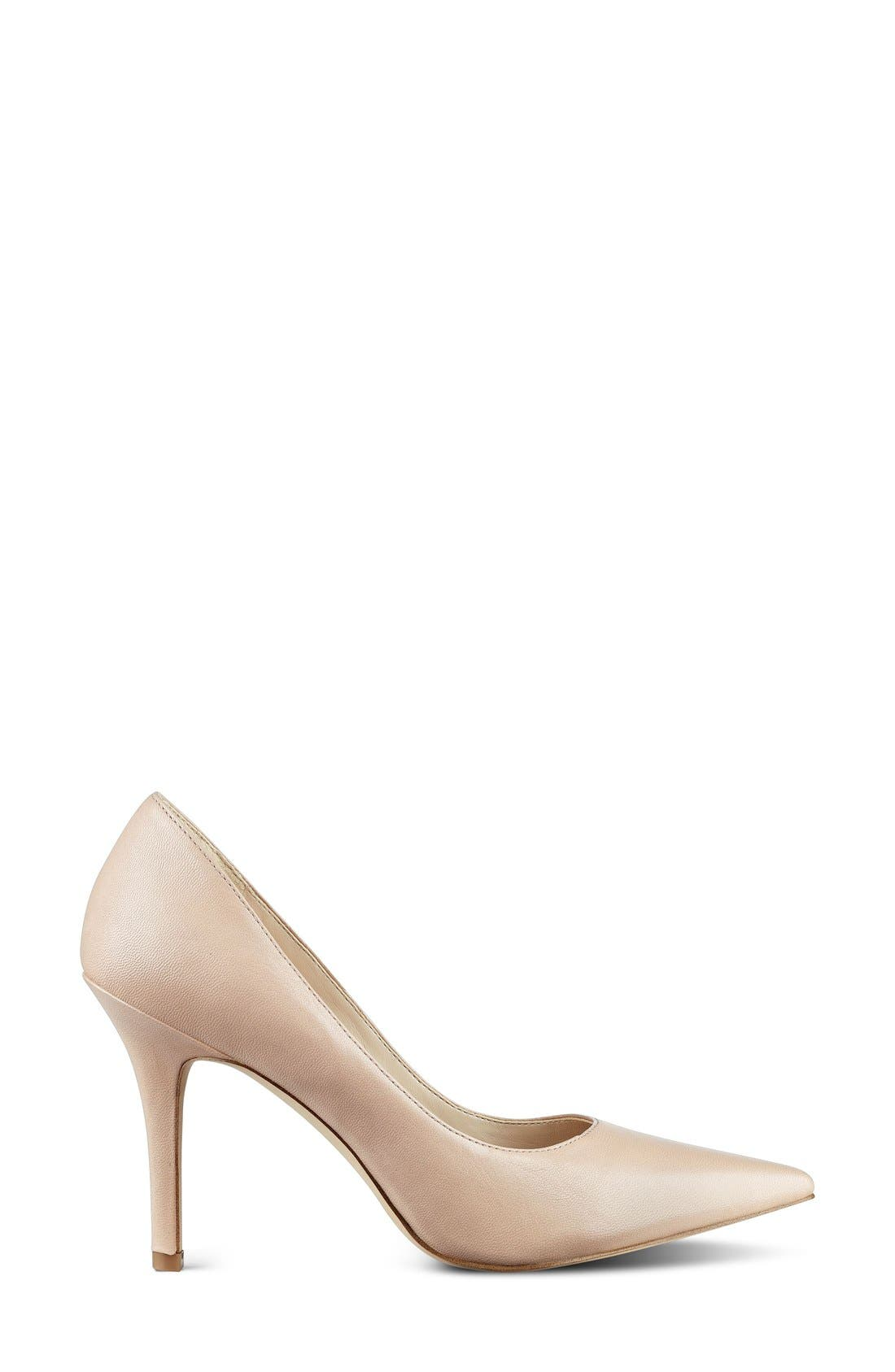 Alternate Image 2  - Nine West 'Jackpot' Pointy Toe Pump (Women)