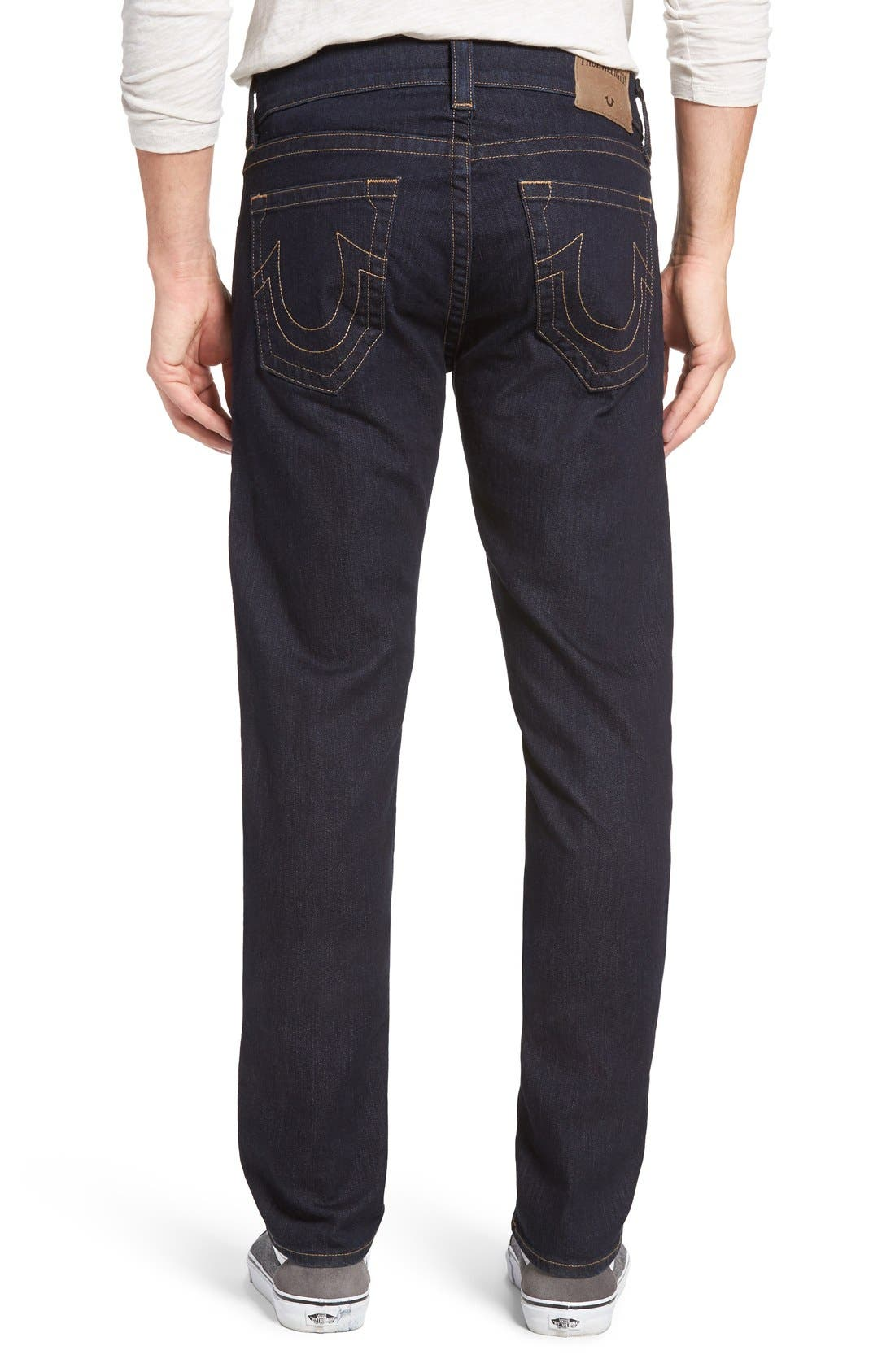 Geno Straight Leg Jeans,                             Alternate thumbnail 2, color,                             2S Body Rinse