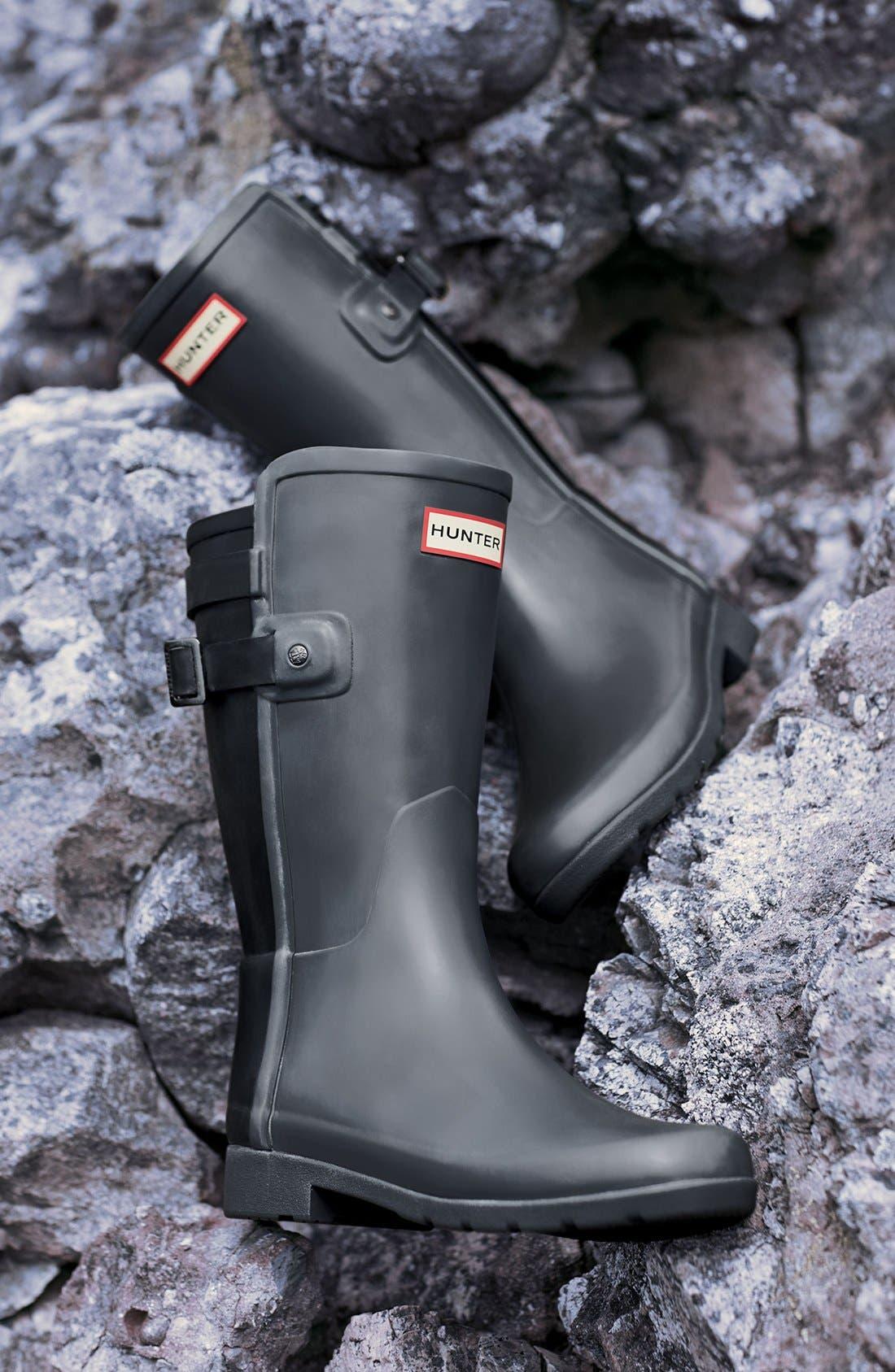 'Original Refined' Short Rain Boot,                             Alternate thumbnail 5, color,