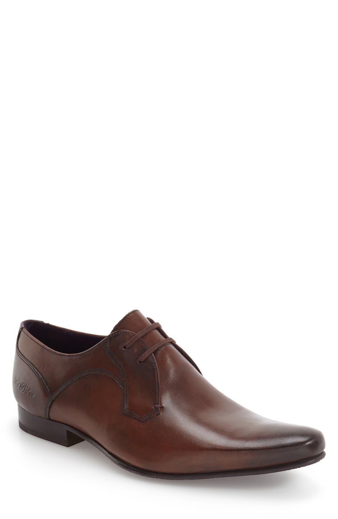 Alternate Image 1 Selected - Ted Baker London 'Martt 2' Plain Toe Derby (Men)