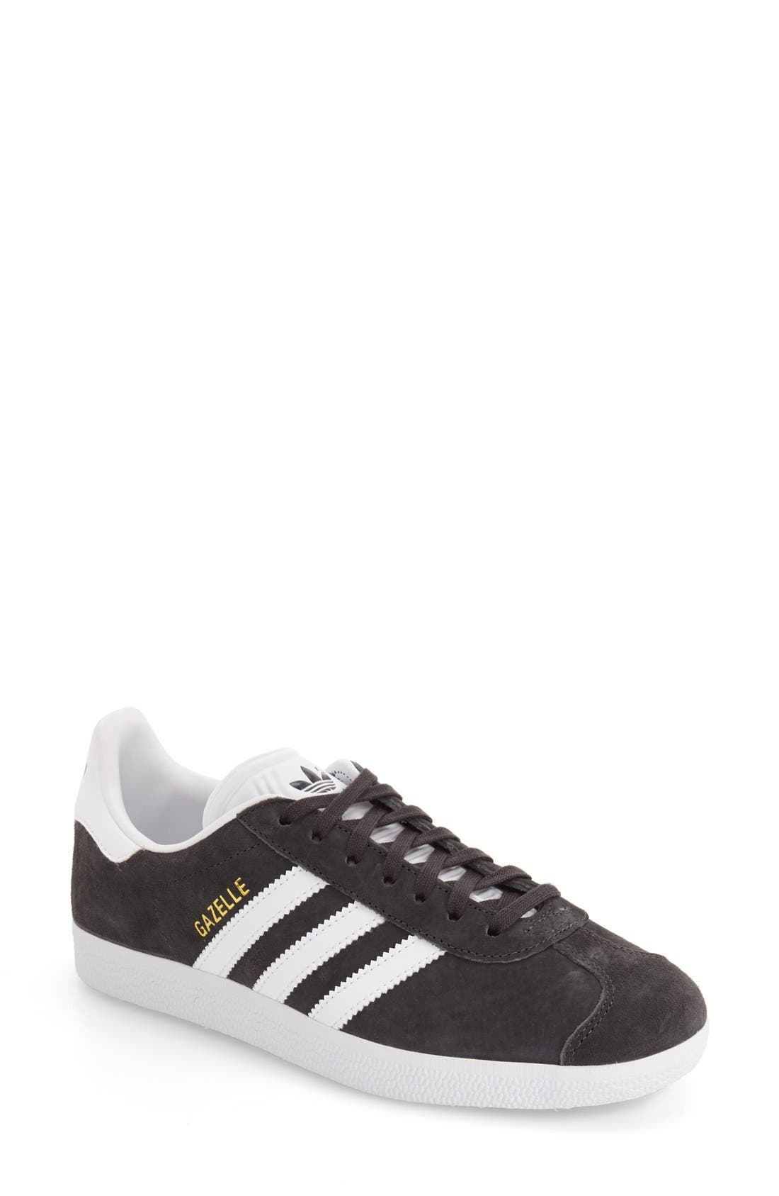 Gazelle Sneaker,                             Main thumbnail 1, color,                             Solid Grey