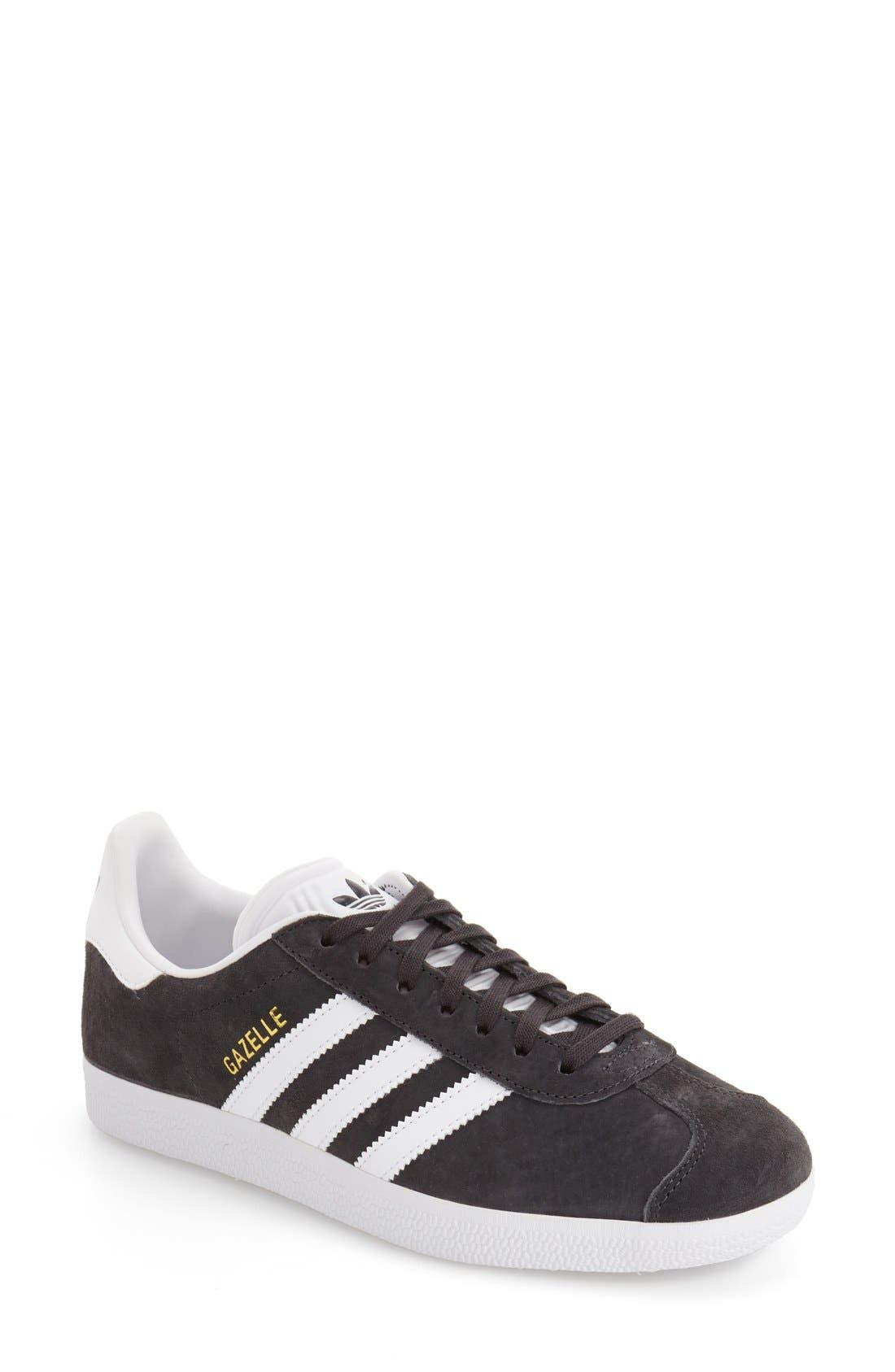 Gazelle Sneaker,                         Main,                         color, Solid Grey