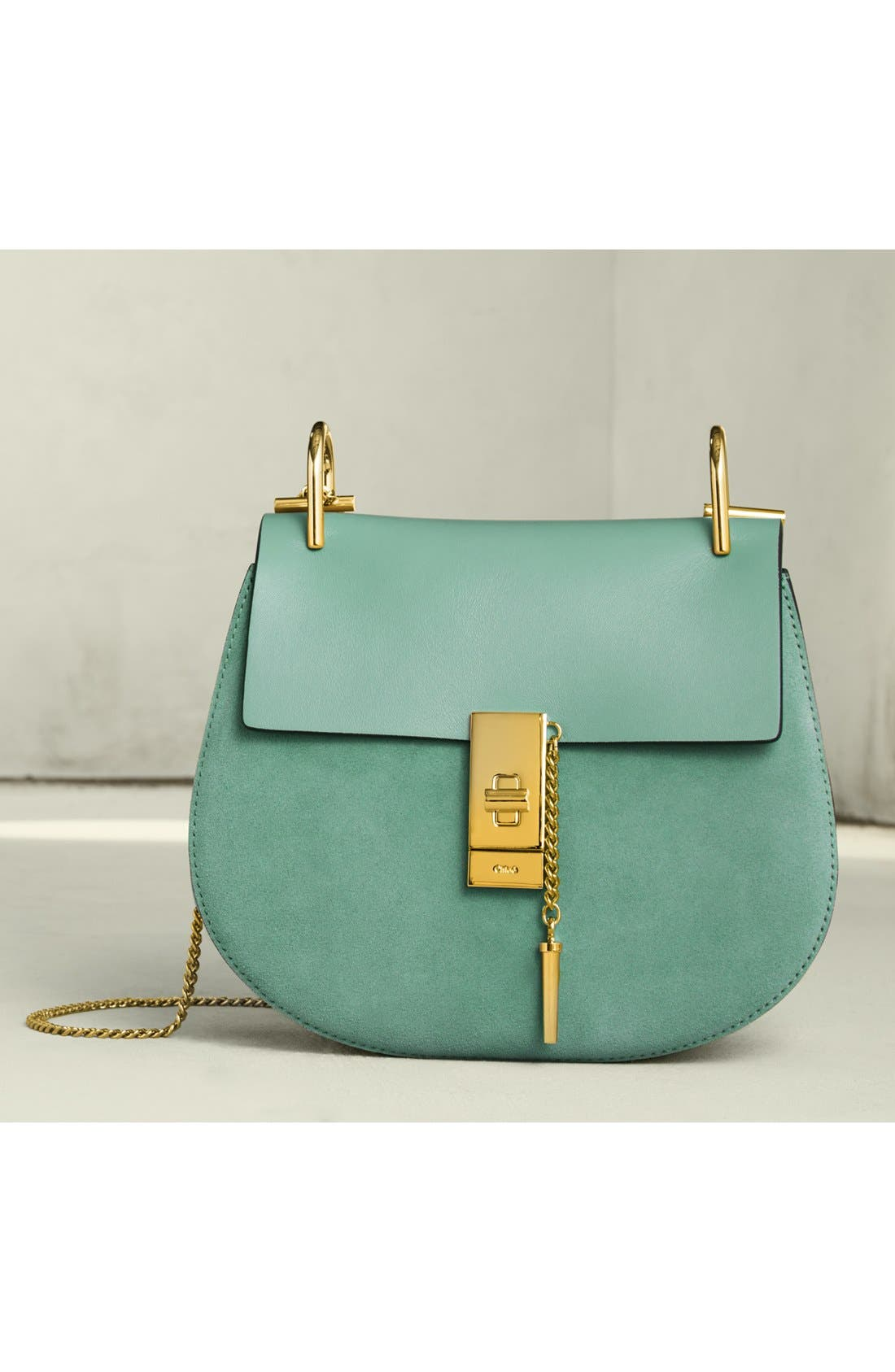 Alternate Image 7  - Chloé 'Mini Drew' Leather Crossbody Bag