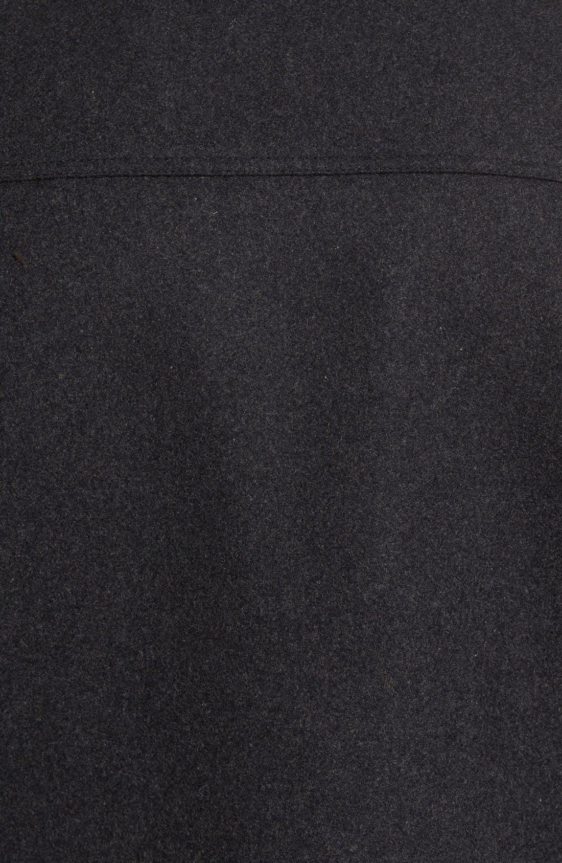 Alternate Image 5  - Vince Camuto Austin Wool Blend Military Coat