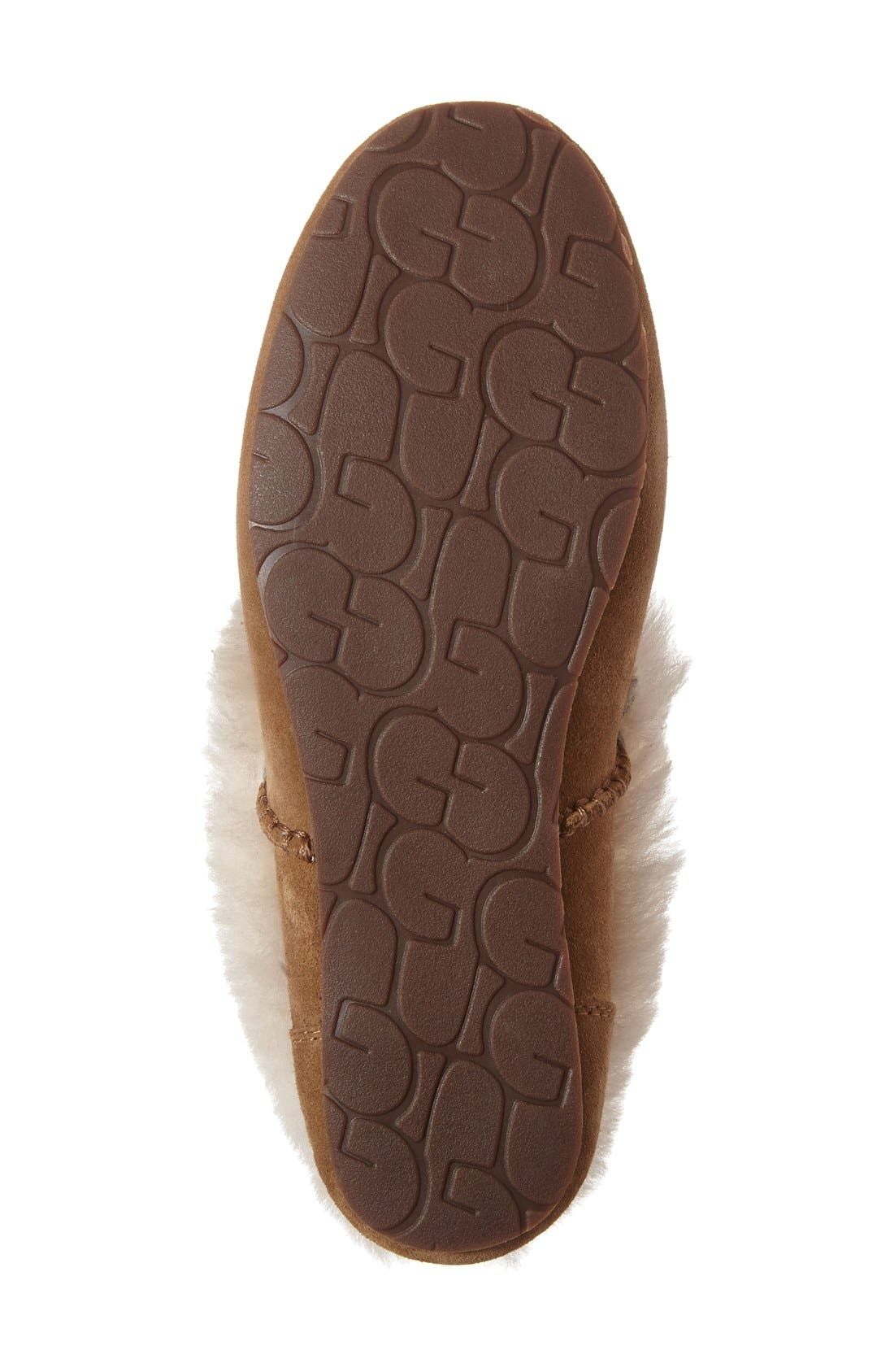 Alternate Image 2  - UGG® Kendyl Genuine Shearling Slipper (Women)
