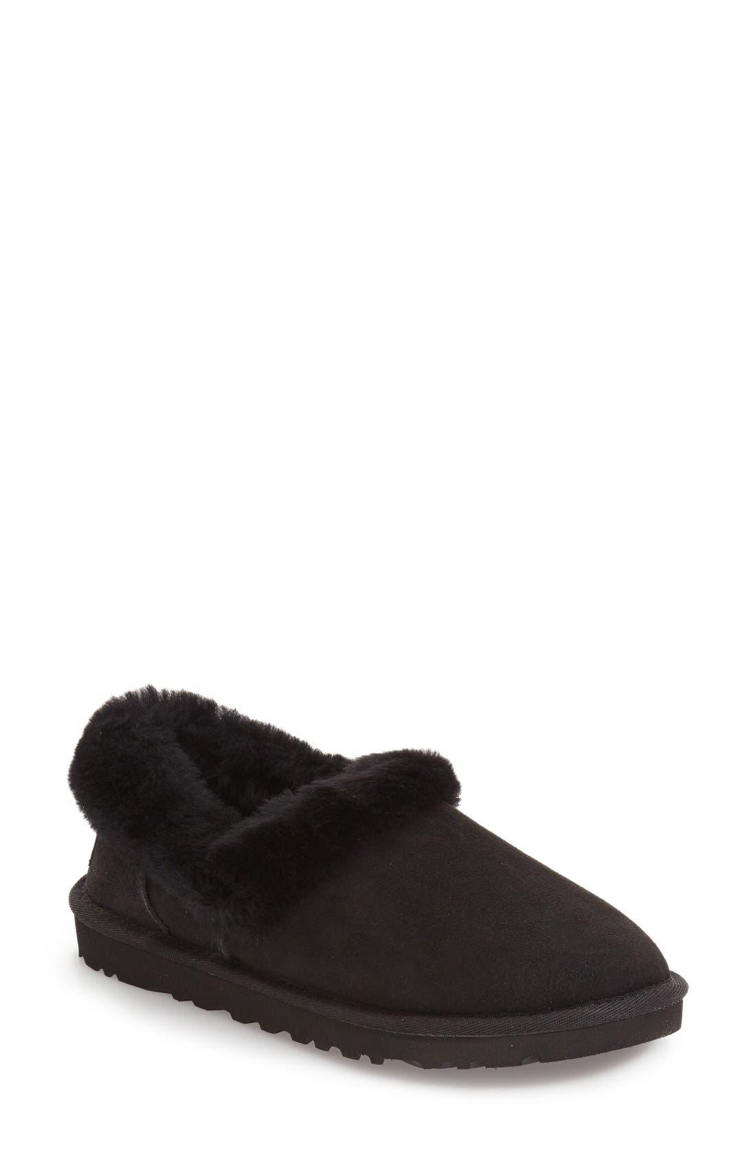 Main Image - UGG® Nita Genuine Shearling Slipper (Women)