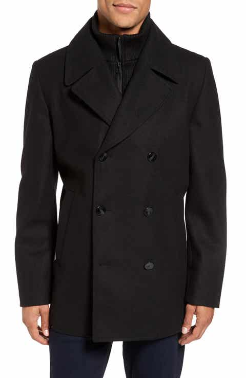 Men's Peacoat & Wool Coats | Nordstrom