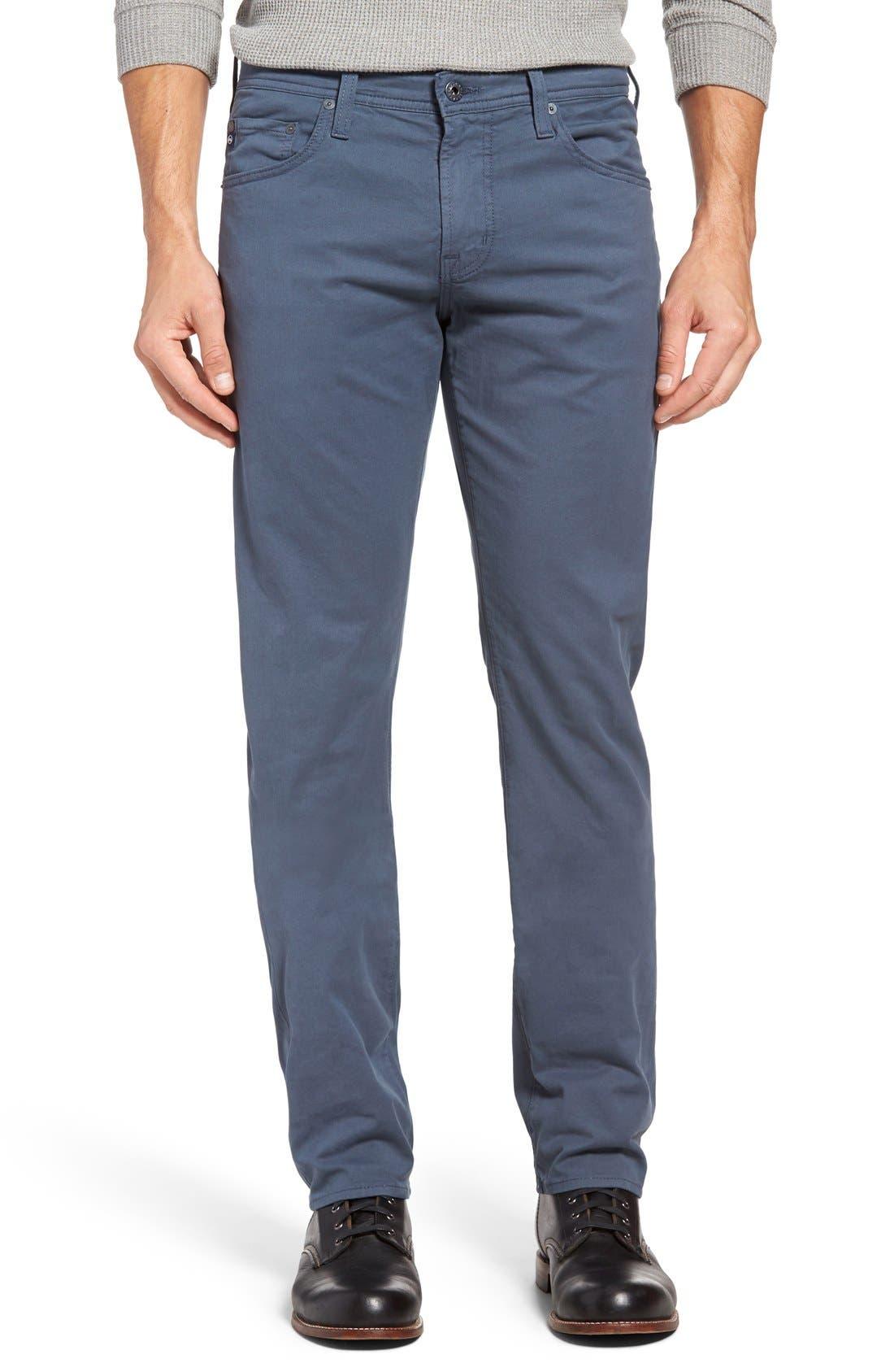 Alternate Image 1 Selected - AG 'Matchbox BES' Slim Fit Pants